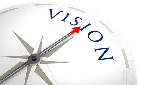 affärsidé och vision